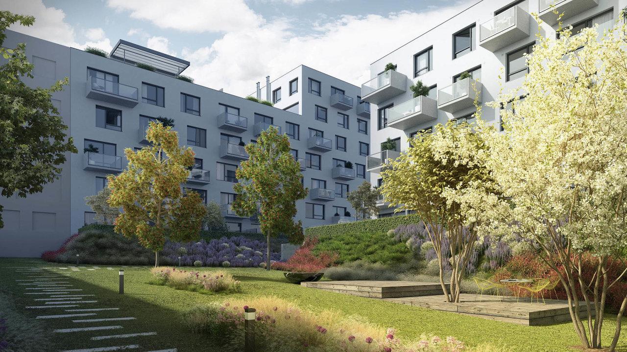 Nová Elektra. Namístě průmyslově-administrativní zóny vPraze 9 postaví Finep vprvní etapě 92 bytů. Nabízí je zaceny, které jsou napražské poměry podprůměrné.