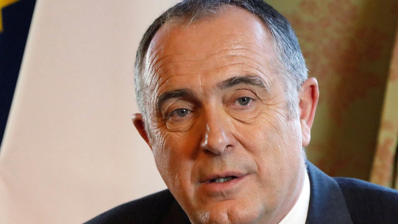 Francouzský ministr zemědělství Didier Guillaume.