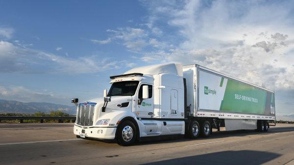 UPS a TuSimple testují v Arizoně samořiditelná vozidla.
