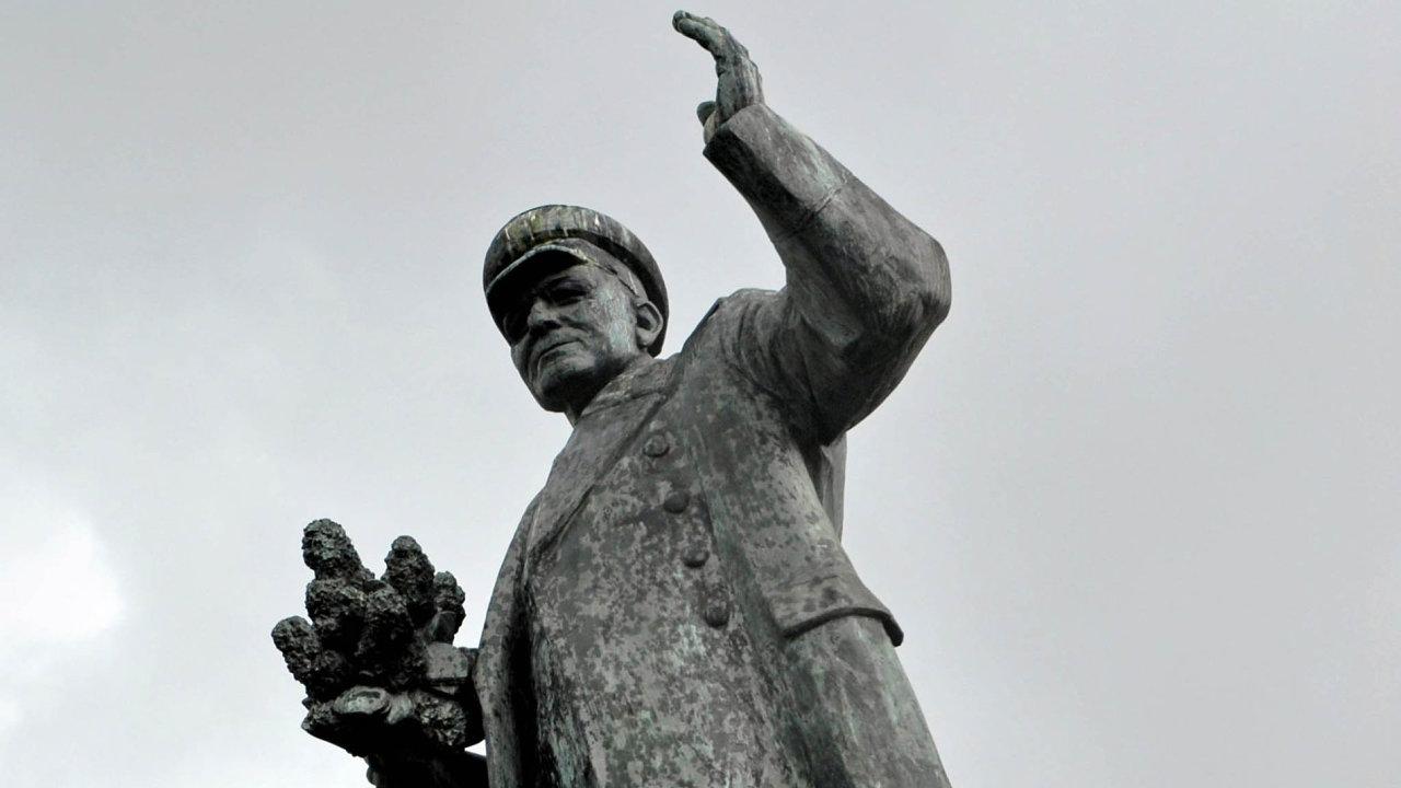 Ivan Stěpanovič Koněv: Sovětský vojevůdce má pomník vpražské Bubenči.