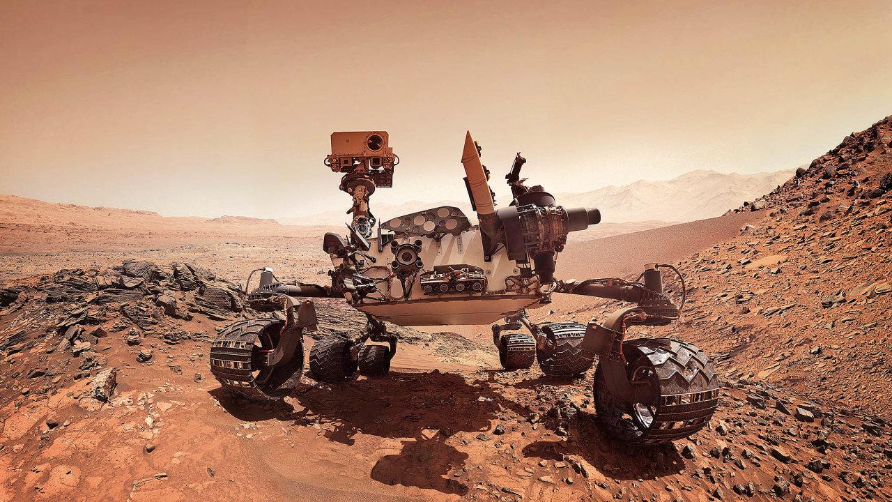 Popovrchu Marsu zatím jezdila jen robotická vozítka, lidé přijdou nařadu až poroce 2033.