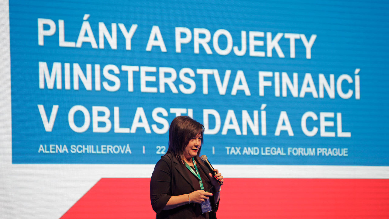 """Ministryně financí Alena Schillerová debaty o nižší digitální dani odmítá. """"Jde odočasné řešení dodoby, než bude nalezeno společné řešení naúrovni OECD."""" Dohodu naspolečném postupu ale zatím evropské státy nenašly."""