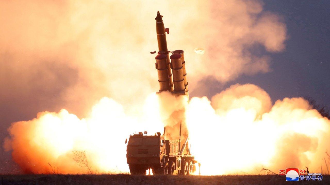 KLDR, Korea, raketa, test