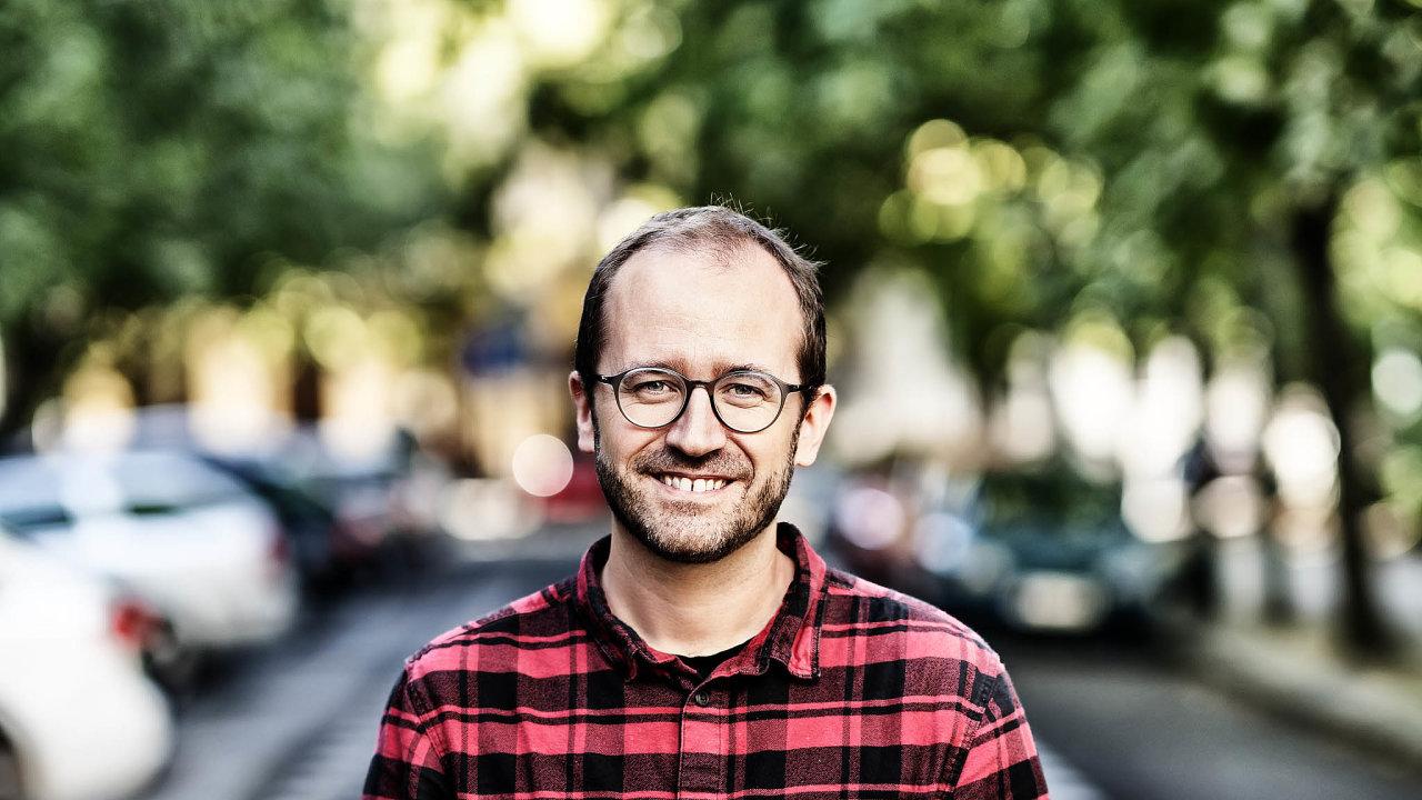 Jakub Nešetřil (41). Poprodeji společnosti Apiary koncernu Oracle založil Česko.Digital, které pomáhá sdigitalizací veřejného sektoru.