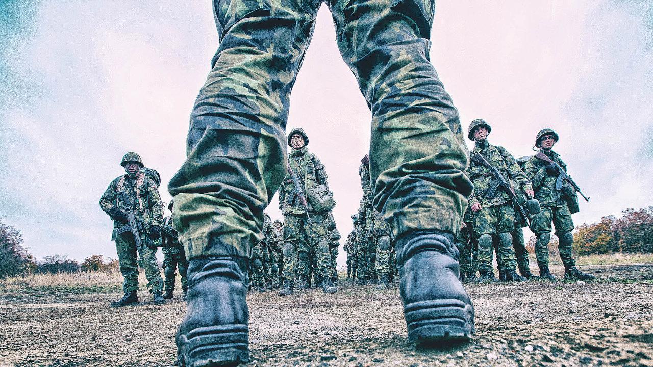 Dobrovolné vojenskécvičení ve Vyškově