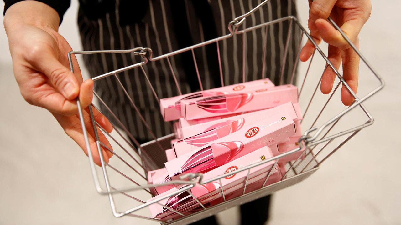 Hrátky sRuby: Nestlé představilo KitKat Ruby nejdříve nakorejském ajaponském trhu. Až poté to gigant zkusil vEvropě.