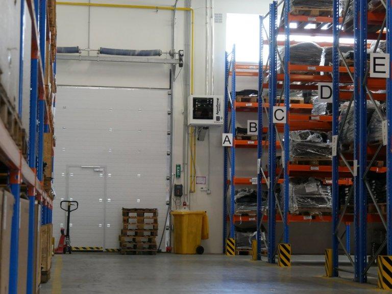 Aermax Kondensa: vytápení skladu plynovým ohřívačem vzduchu