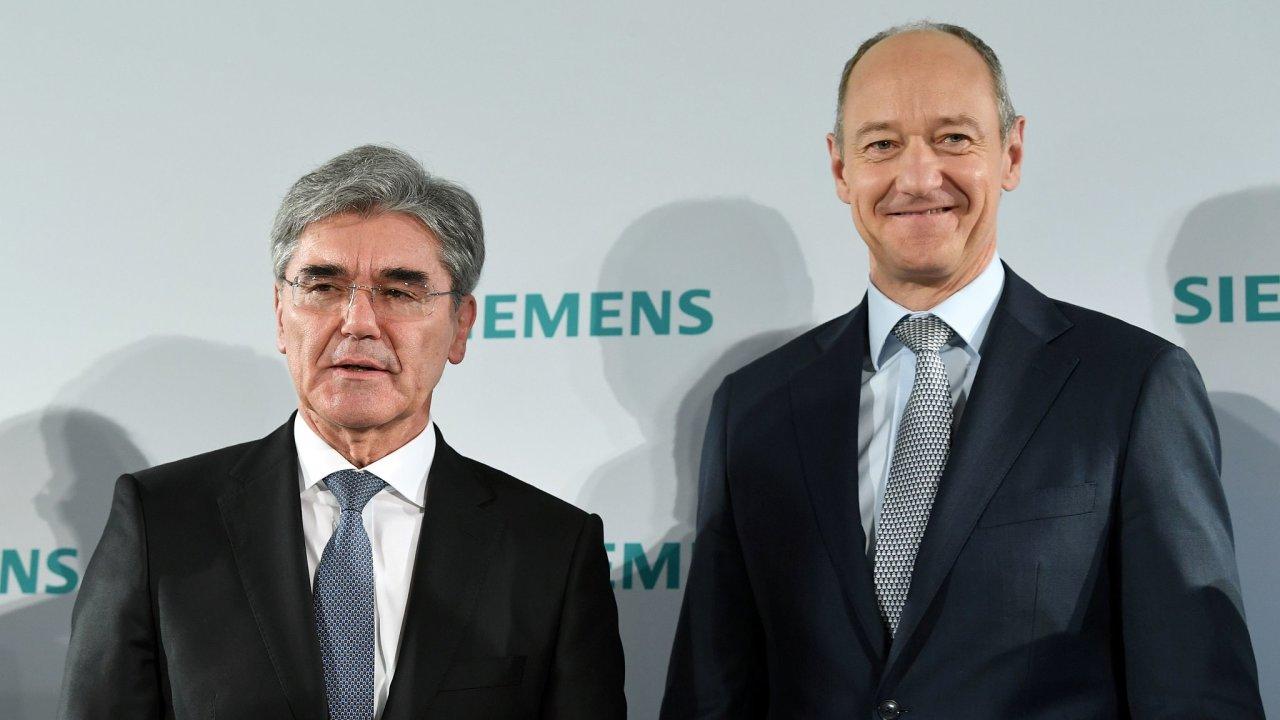 Siemens, Joe Kaeser, Roland Busch