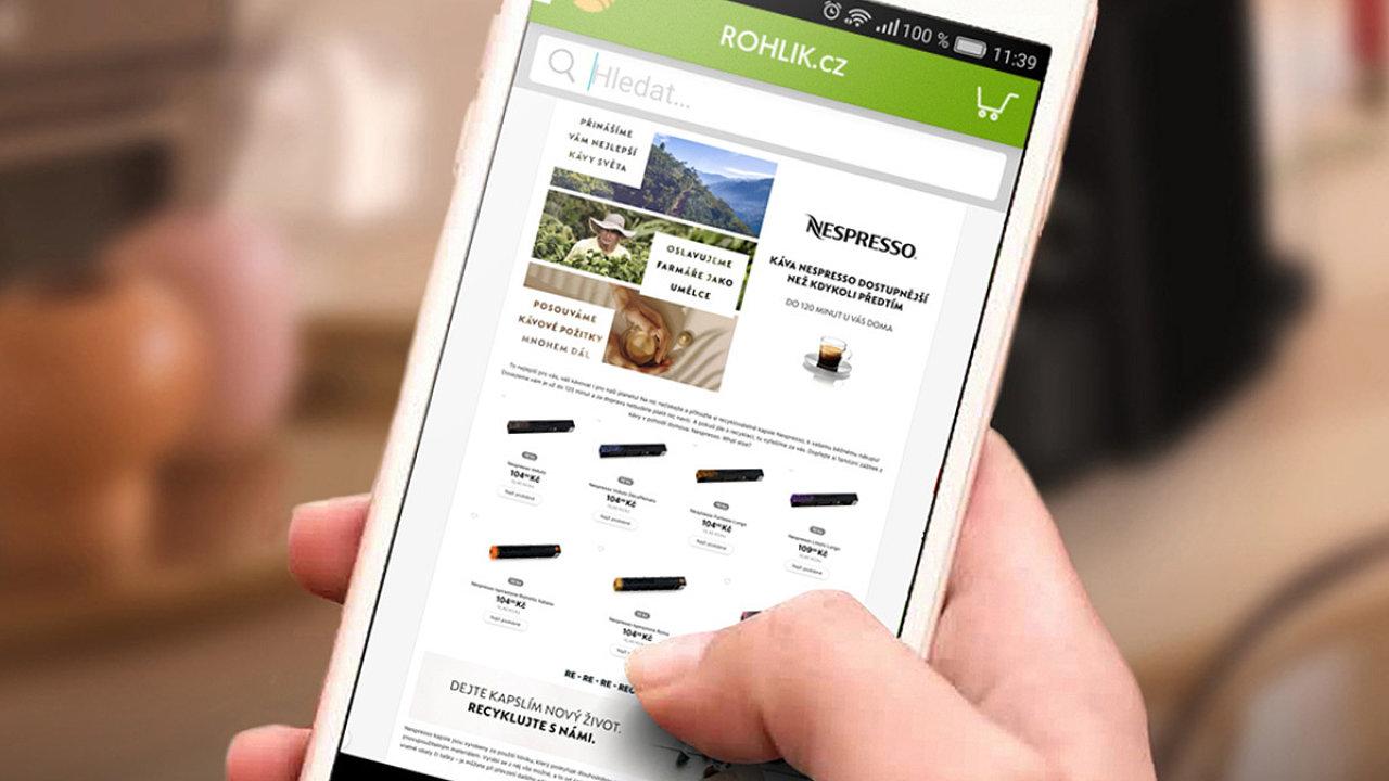 On-line supermarket Rohlík.cz zažívá v pandemii rozkvět. Část Čechů ale hodlá využívání podobných digitálních služeb omezit.