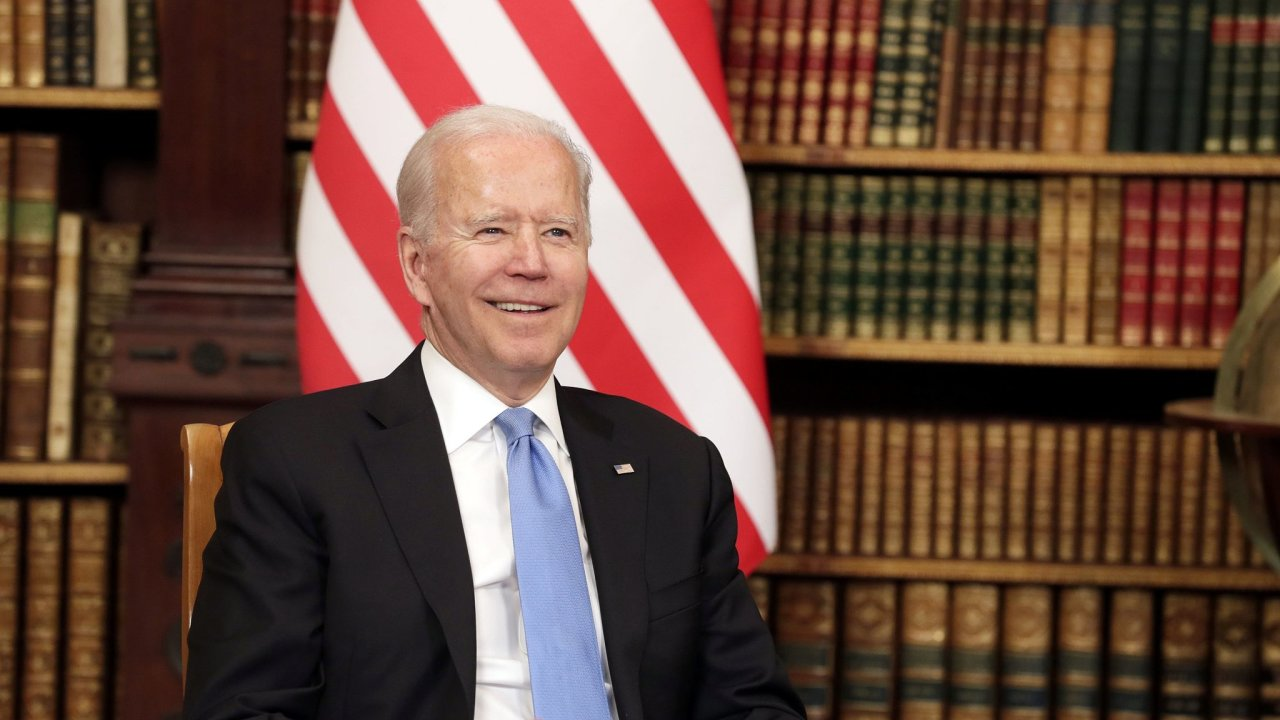 Summit v Ženevě, Biden, Putin