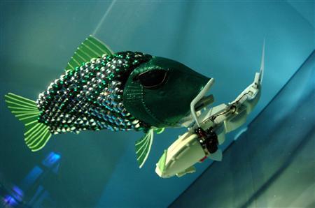 robotická ryba