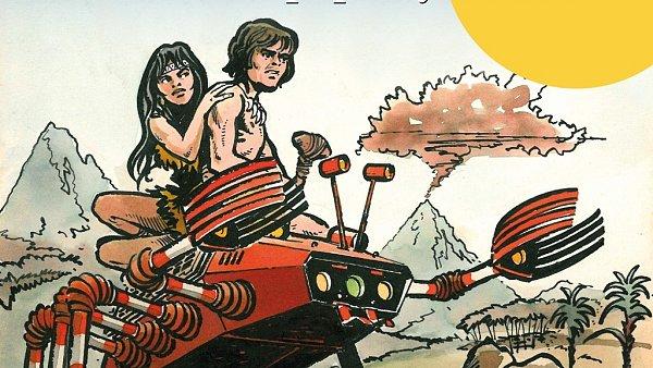 Malý bůh - Pod paprsky Zářícího - obrázky z komiksu