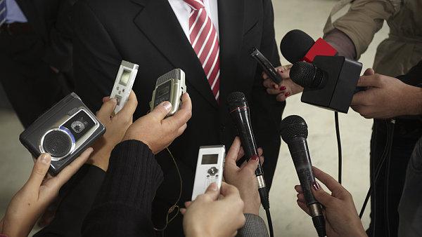 Novináři - ilustrační foto.
