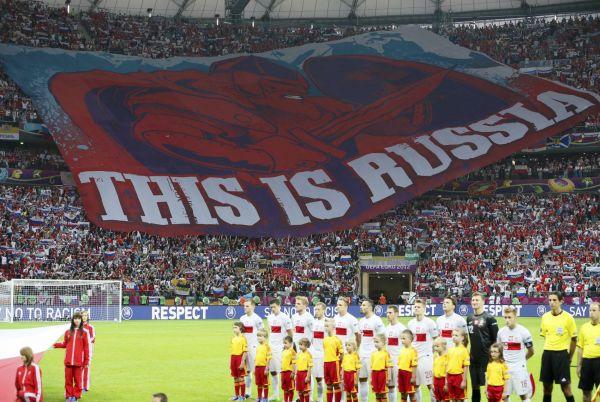 Zápas Ruska s Polskem na Euru 2012