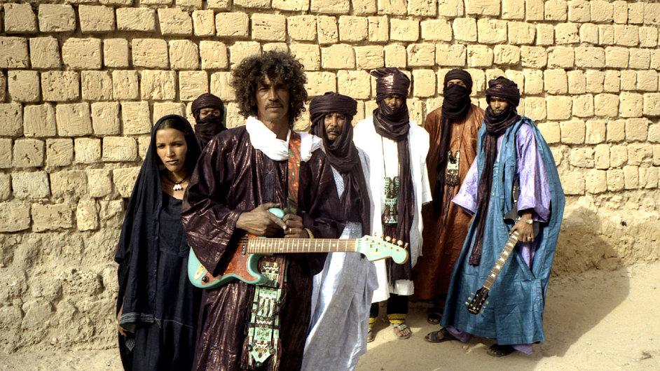 Tinariwen za svoji desku Tassili letos získali Grammy.