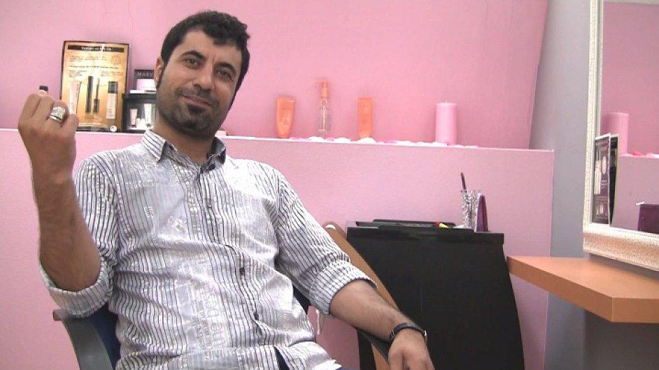 Miran Kasem, Kurd ze Sýrie.