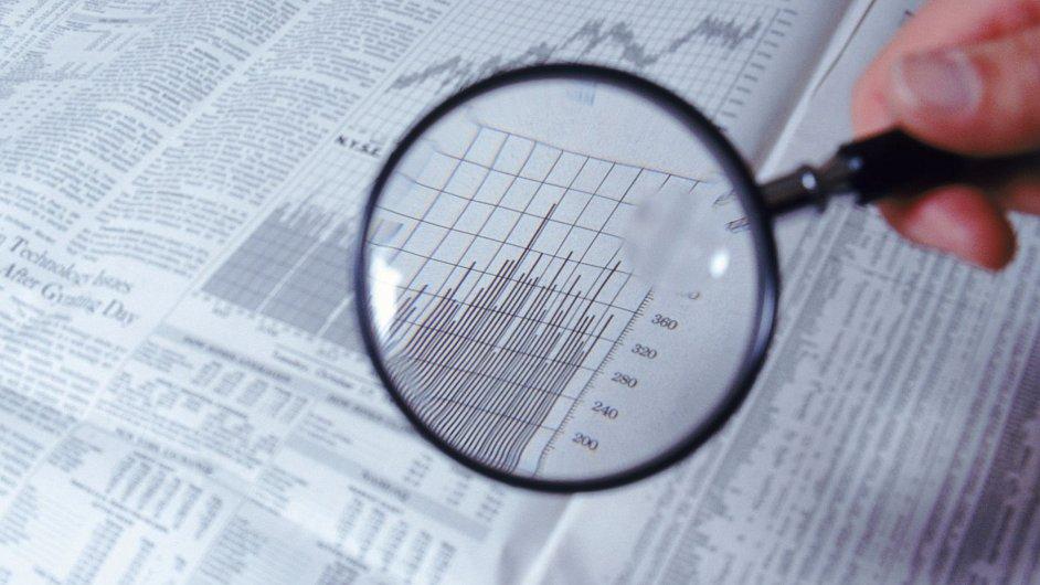 Ilustrační foto - Seznam akcií, investor