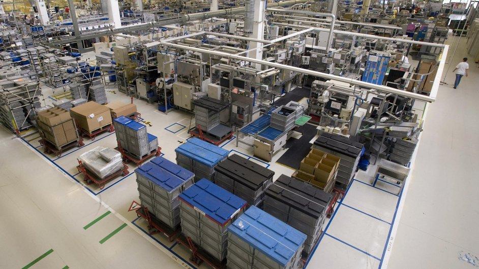Ilustrační foto: výrobní hala firmy Robert Bosch