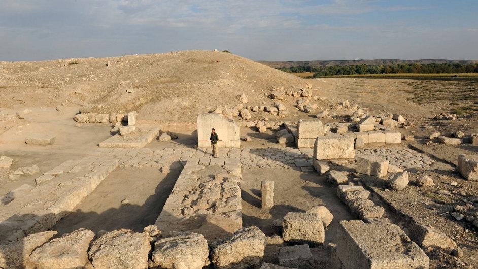 Odkrývání města Karchemiš pokračuje navzdory syrské občanské válce.