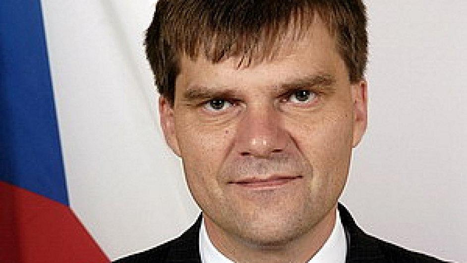 Český velvyslanec v Berlíně Rudolf Jindrák