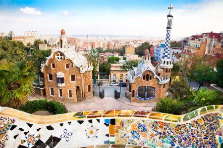 Güellův park v Barceloně