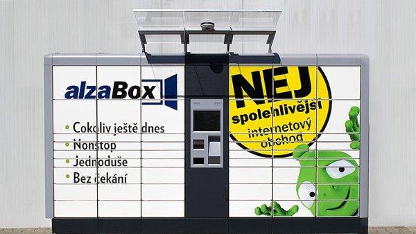 On-line obchod Alza zavádí síť vlastních úložných automatů pro vyzvednutí objednaného zboží