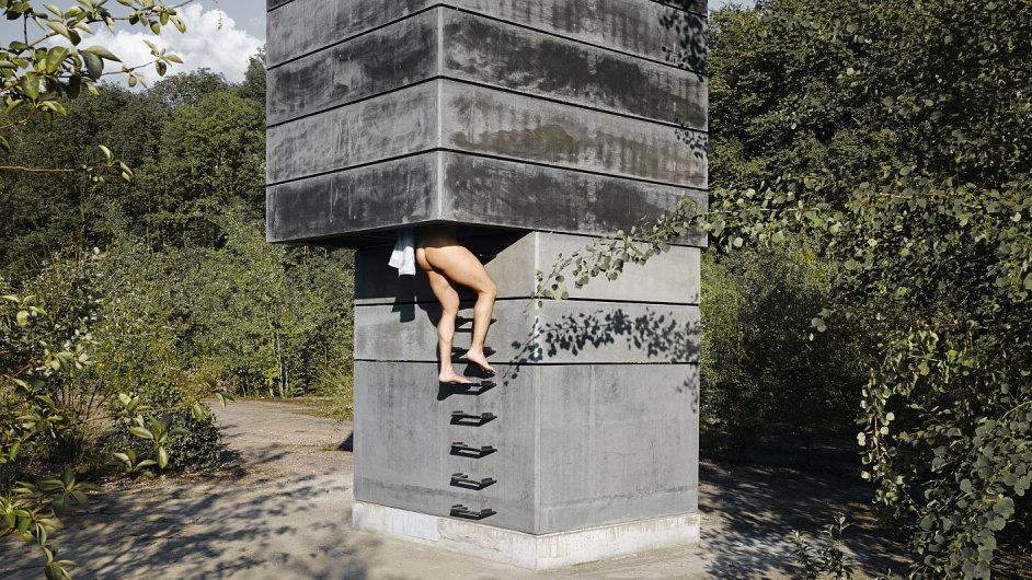 One man sauna