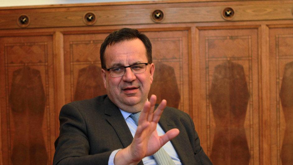 Jan Mládek, ministr průmyslu a obchodu ČR.