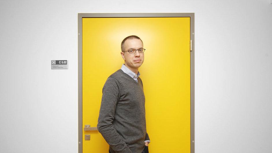 Biochemik Martin Jínek