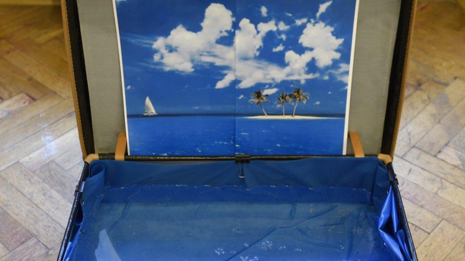 Kufry na výstavě v NoD