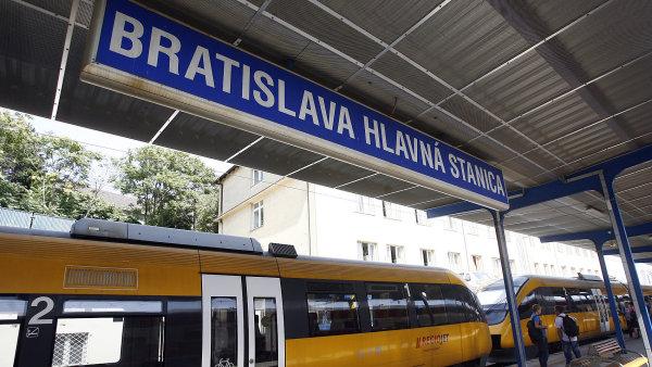 Vlaky RegioJet na Slovensku od pond�l� zdra�� - Ilustra�n� foto.
