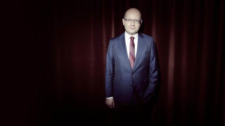Předseda vlády a sociální demokracie Bohuslav Sobotka.
