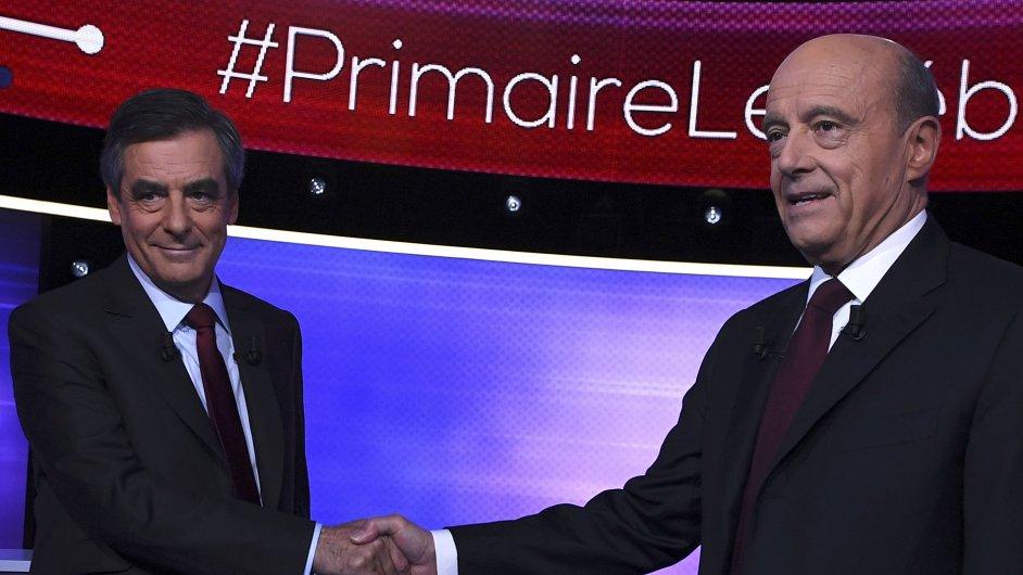 Vítězem debaty před pravicovými primárkami se ve Francii stal Fillon.