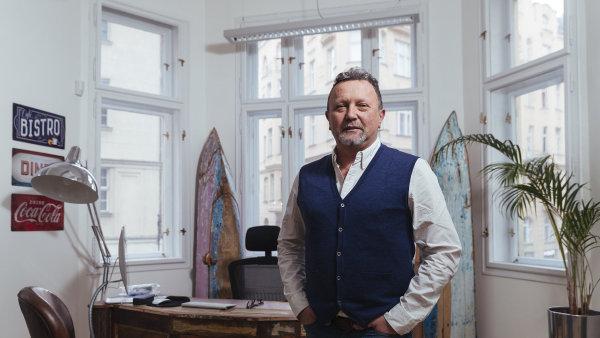 Zakladatel televize Obbod Kamil Ouška.