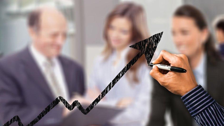 Business, investice, spolupráce, ilustrace