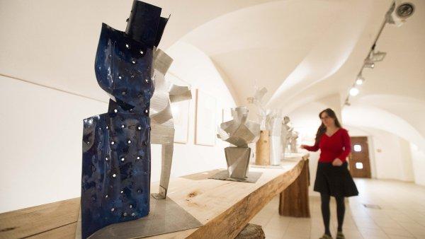 Výstava děl Vojmíra Vokolka v Pardubicích potrvá do 4. června.