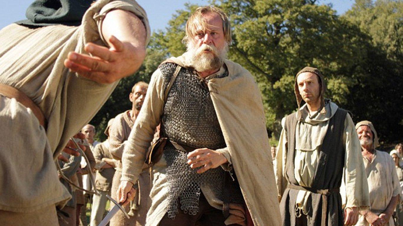 Snímek z filmu Křižáček.