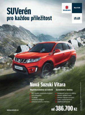 Kampaň SUVerén pro každou příležitost - Suzuki Vitara