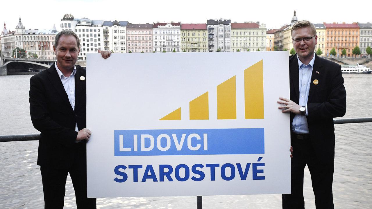 KDU-ČSL a STAN, Lidovci a Starostové, nové logo