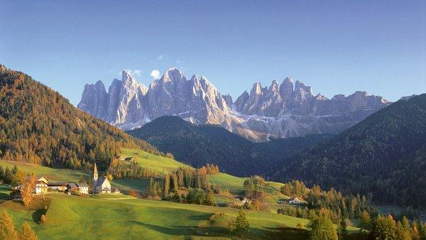 Hory v Jižním Tyrolsku