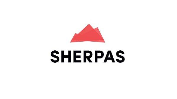 Nové logo agentury Sherpas (Dobrý web)