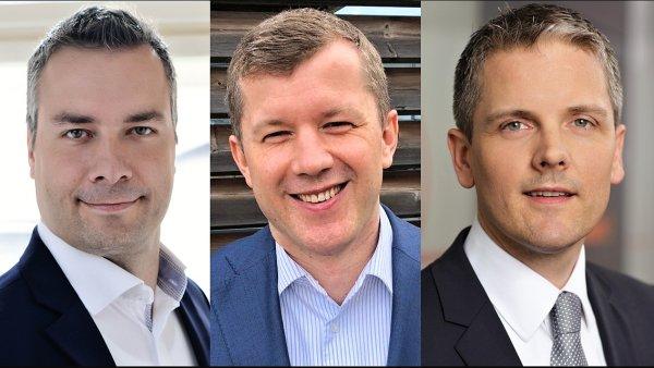 Petr Kohout, Radek Mlčák a Mark Tornij, ING Bank ČR