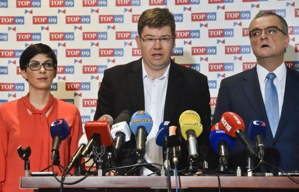 TOP 09 odmítla vládu Andreje Babiše.