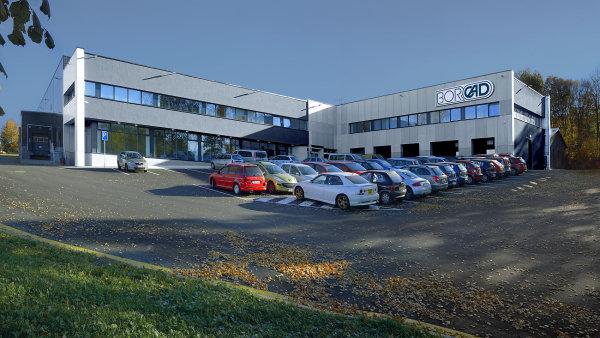 ITeuro BORCAD nová výrobní hala