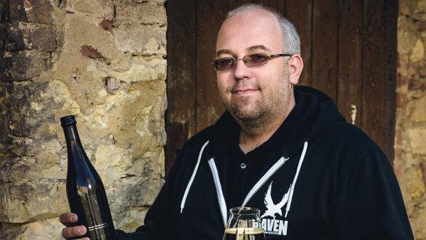 Majitel pivovaru Raven Ladislav Vrtiš.