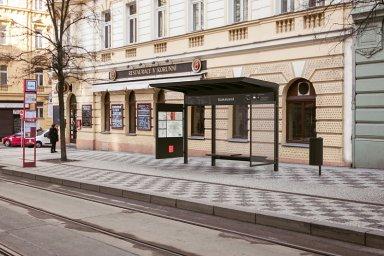Zastávky MHD v Praze dostanou nový kabát. Podívejte se, jaké přístřešky mají stát ve městě v roce 2021
