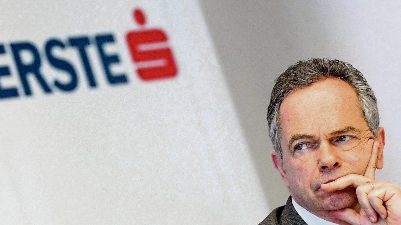 V čele Erste Group Bank končí Andreas Treichl.