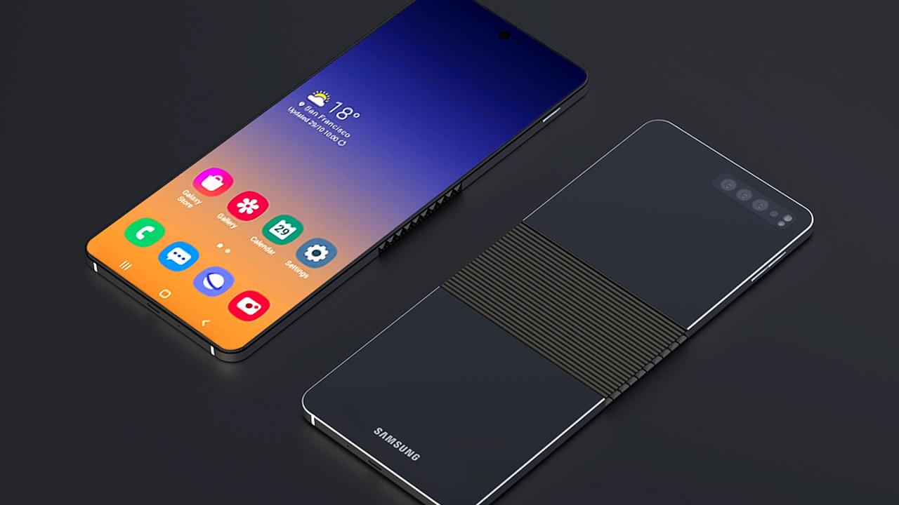 Nový skládací telefon od Samsungu bude vysoký a úzký