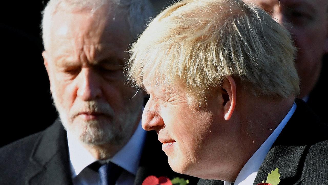 Jeremy Corbyn a Boris Johnson – dva největší rivalové v blížících se volbách.