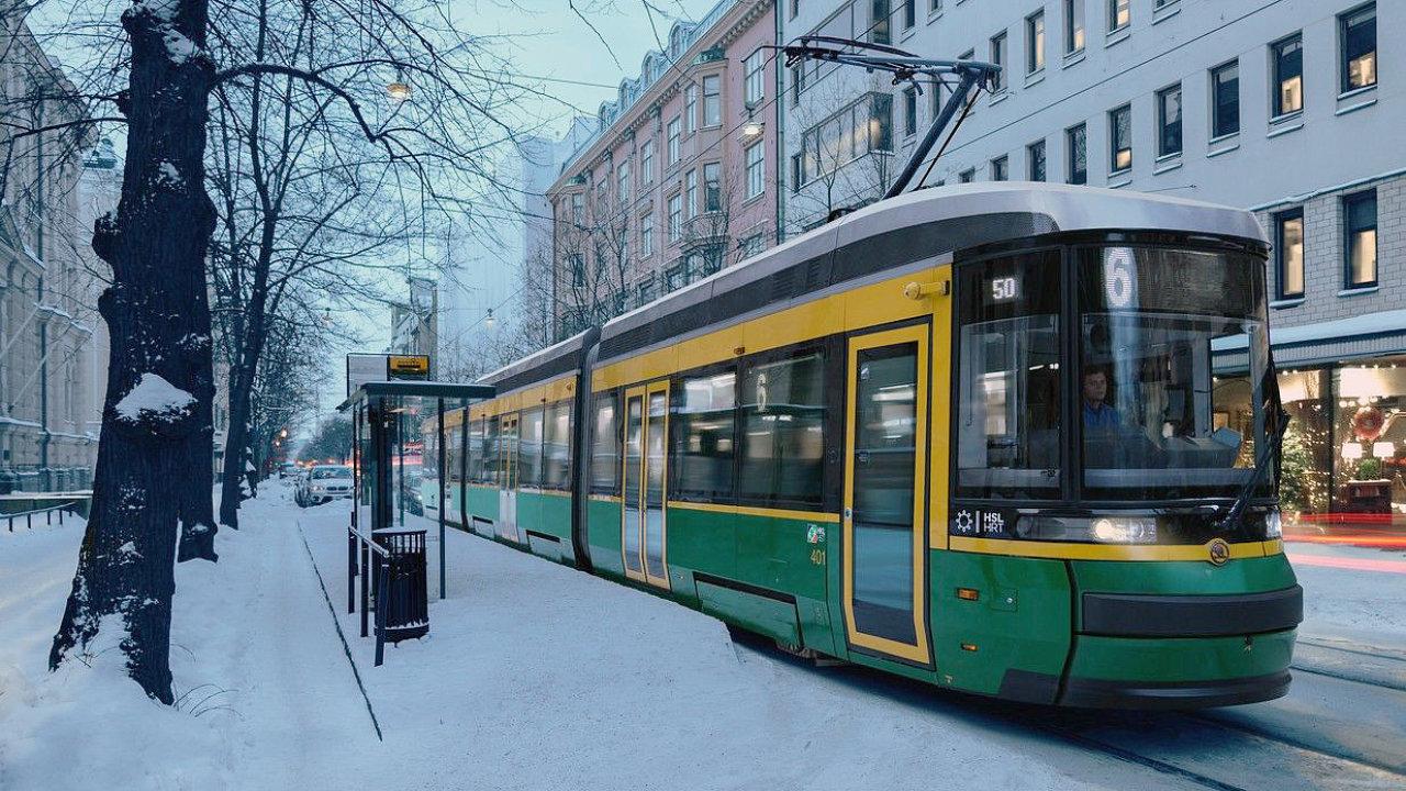 Tramvaje Škoda ForCity Smart jezdí zatím jen v Helsinkách, v budoucnu by měly jezdit taky v Tampere.